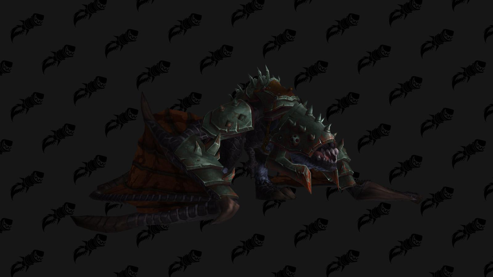 La monture Proto-drake du gladiateur noir est une monture PVP de l'extension Battle for Azeroth