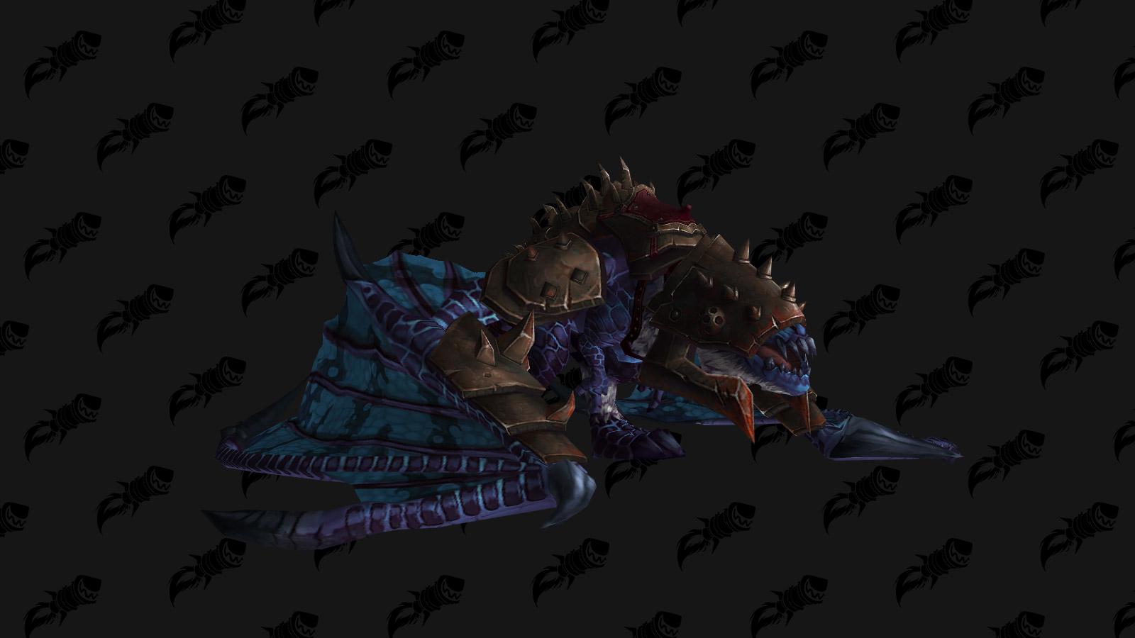 La monture Proto-drake violet du gladiateur est une monture PVP de l'extension Battle for Azeroth