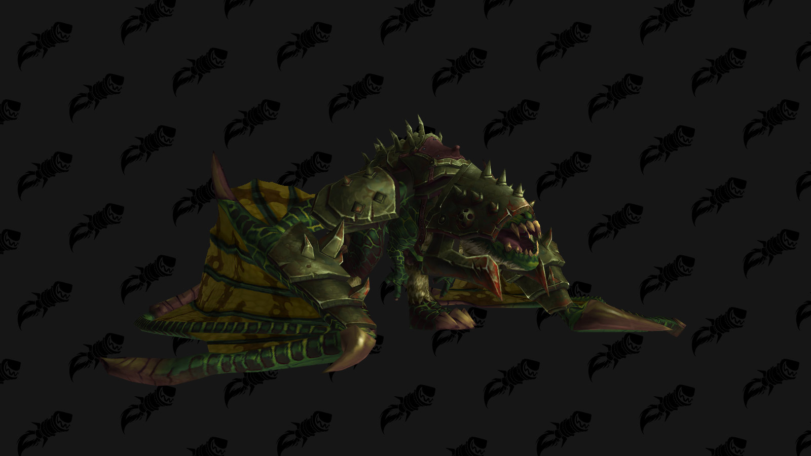 La monture Proto-drake du gladiateur vert est une monture PVP de l'extension Battle for Azeroth