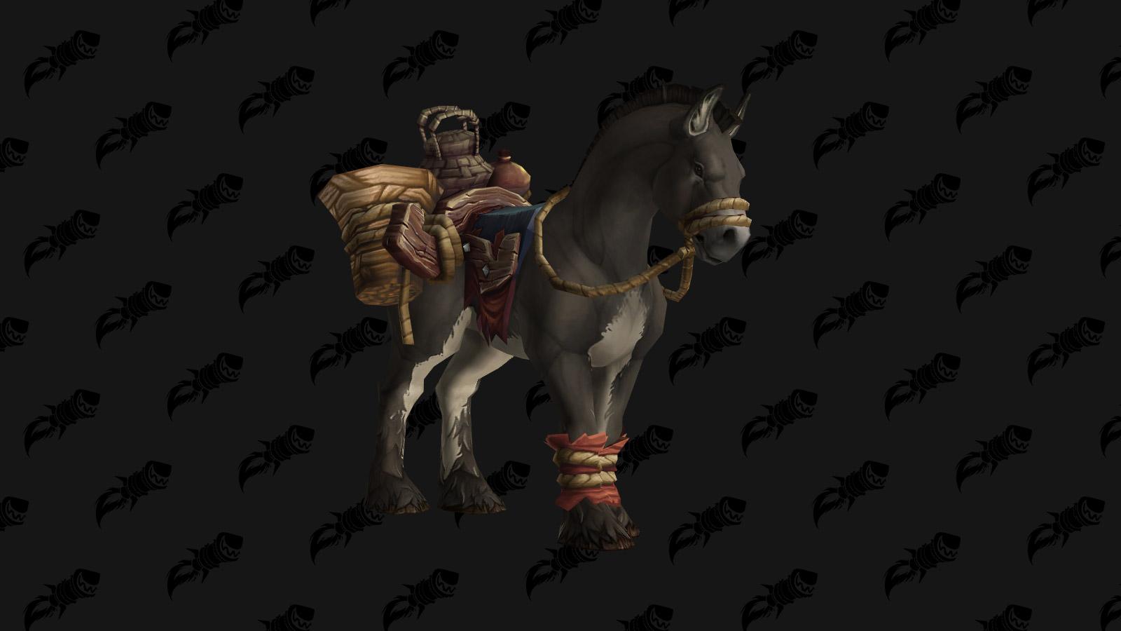 Mule de bât terrifiée dans Battle for Azeroth