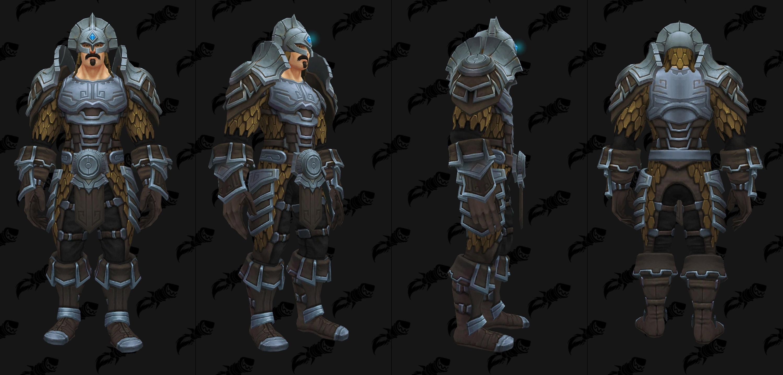 Modèle d'armure de mailles du raid Uldir en mode normal