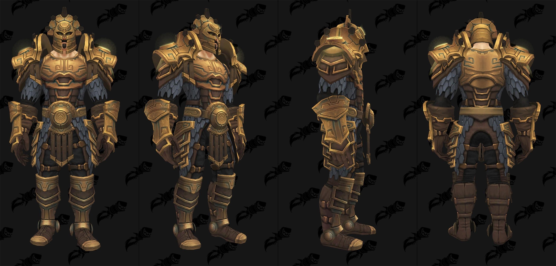 Modèle d'armure de mailles du raid Uldir en mode mythique