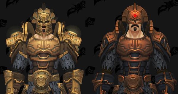 raid uldir : boss final et modeles d'armure en mailles