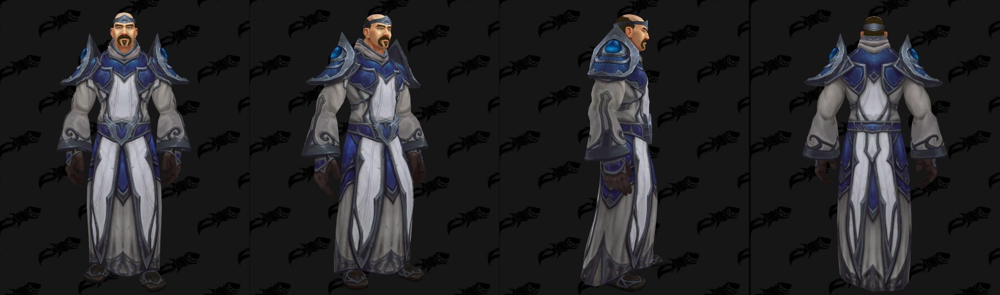 Armures tissu (Alliance) - Fronts de guerre Tier 1 - Coloris 2