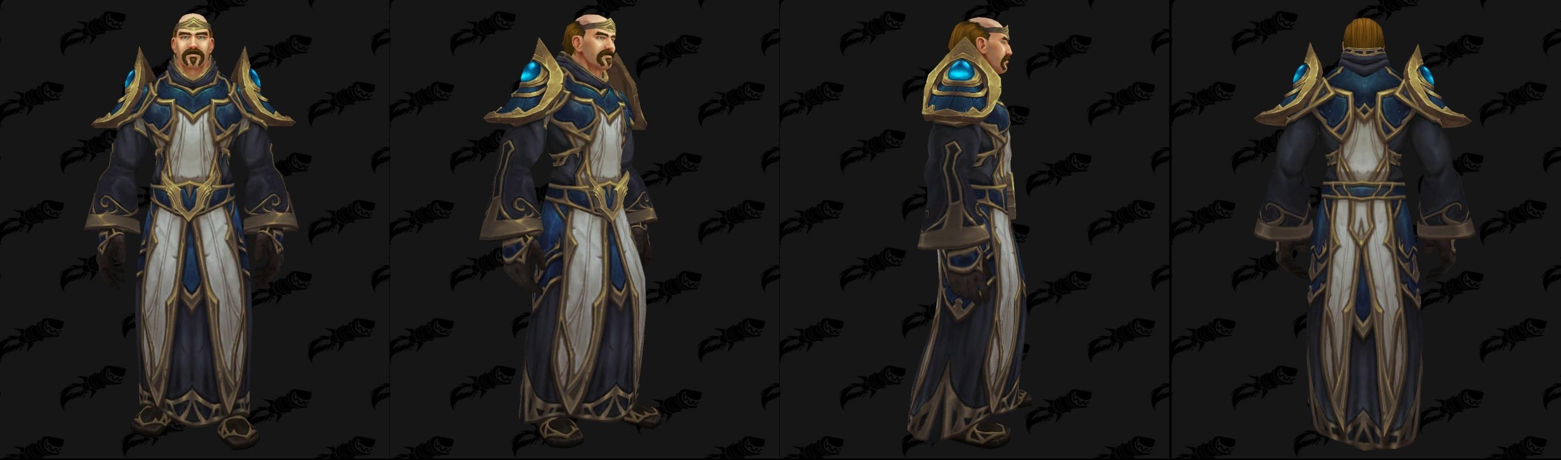 Armures tissu (Alliance) - Fronts de guerre Tier 1 - Coloris 3