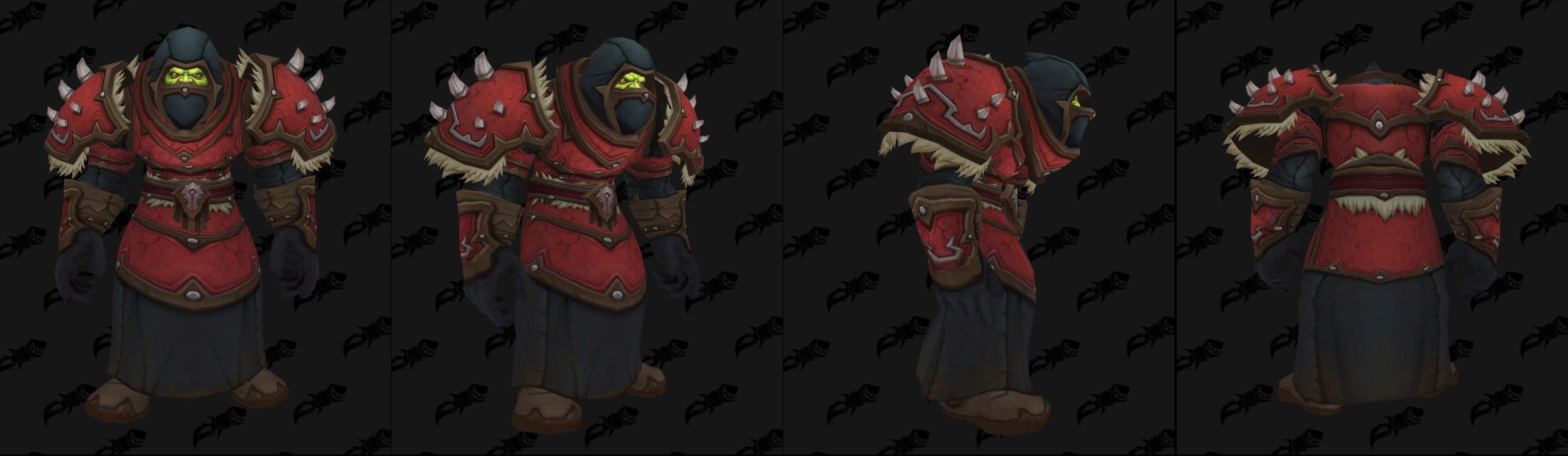 Armures cuir (Horde) - Fronts de guerre Tier 2 - Coloris 1