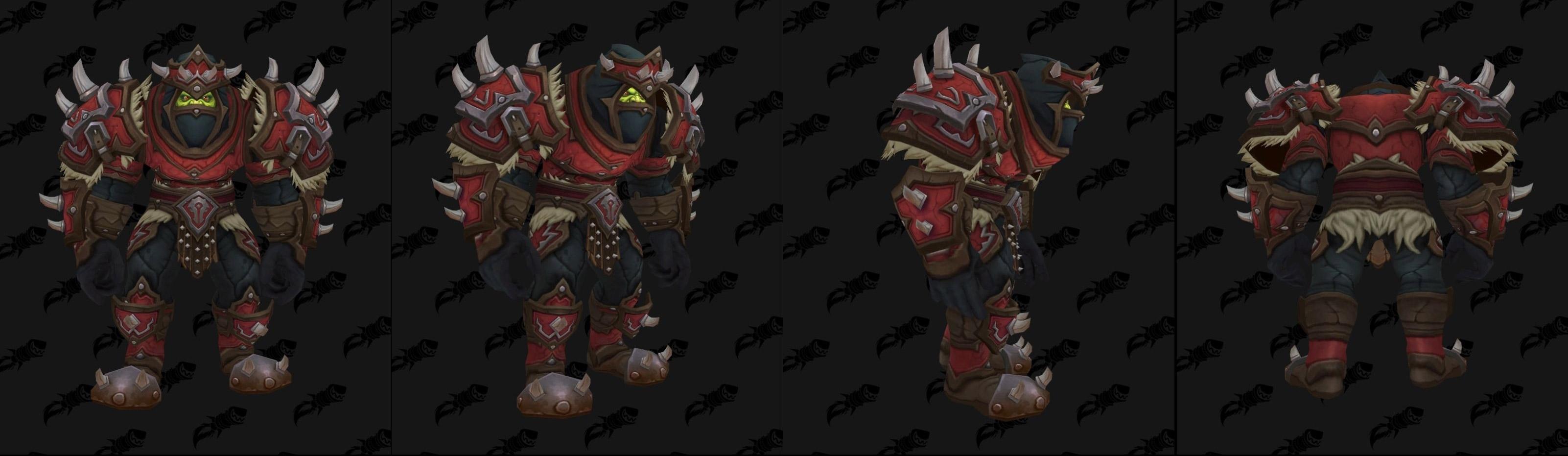 Armures cuir (Horde) - Fronts de guerre Tier 3 - Coloris 1