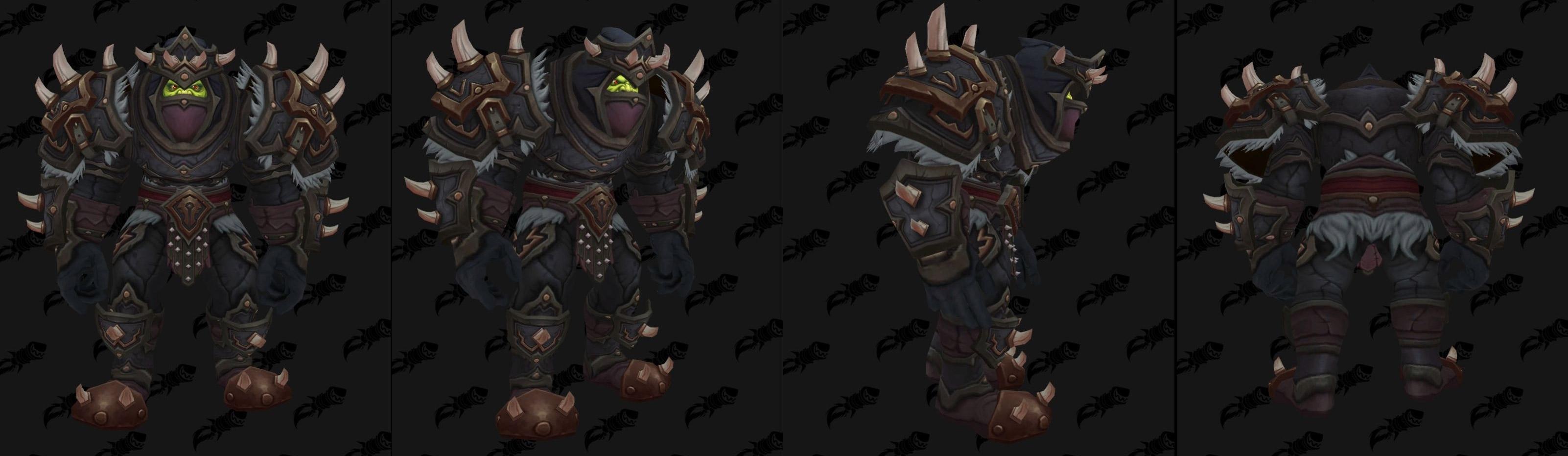 Armures cuir (Horde) - Fronts de guerre Tier 3 - Coloris 3