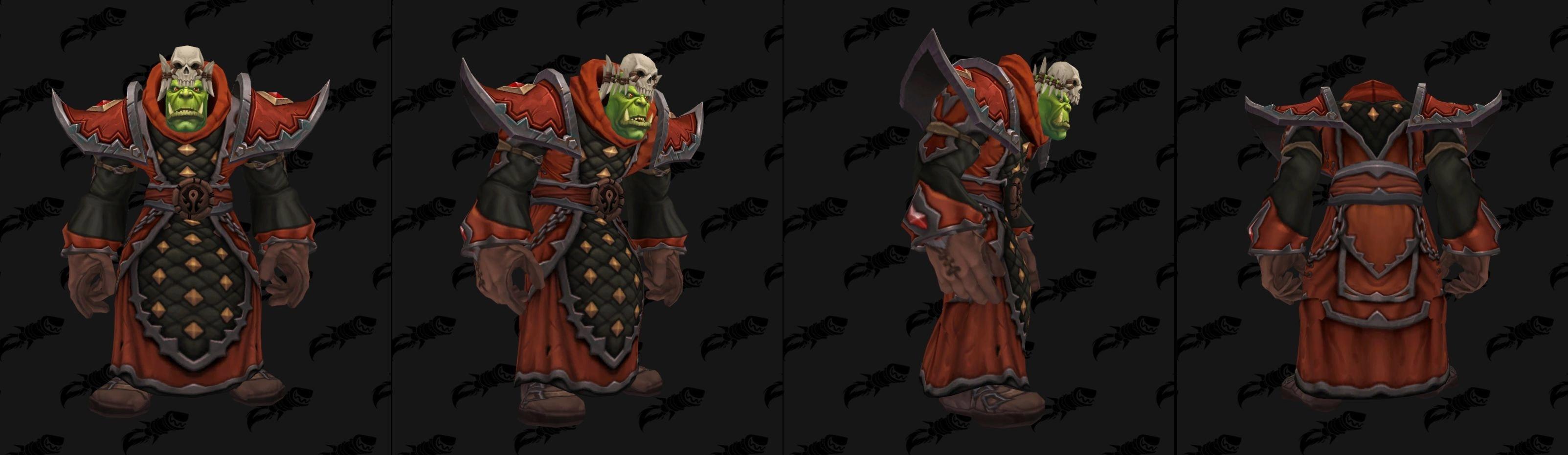 Armures tissu (Horde) - Fronts de guerre Tier 1 - Coloris 1