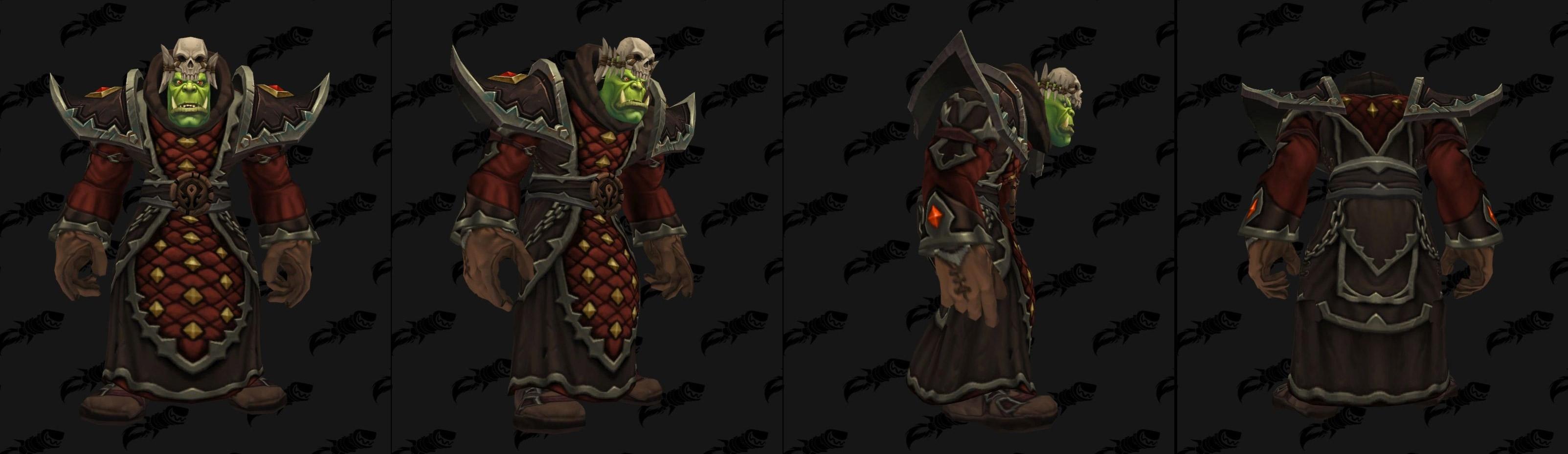 Armures tissu (Horde) - Fronts de guerre Tier 1 - Coloris 2