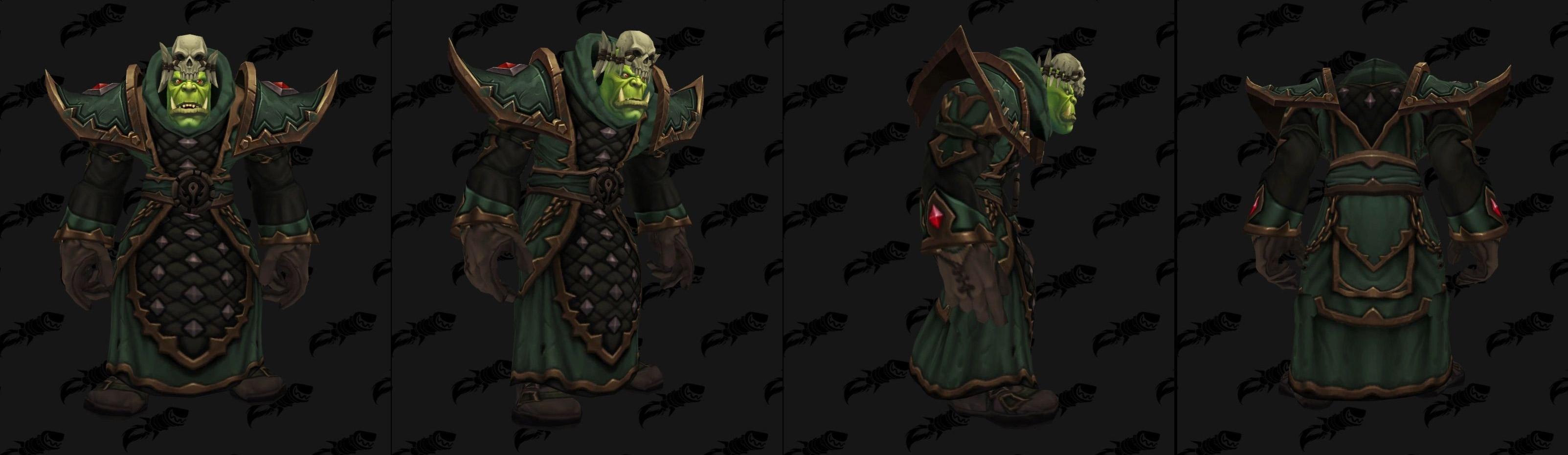 Armures tissu (Horde) - Fronts de guerre Tier 1 - Coloris 3