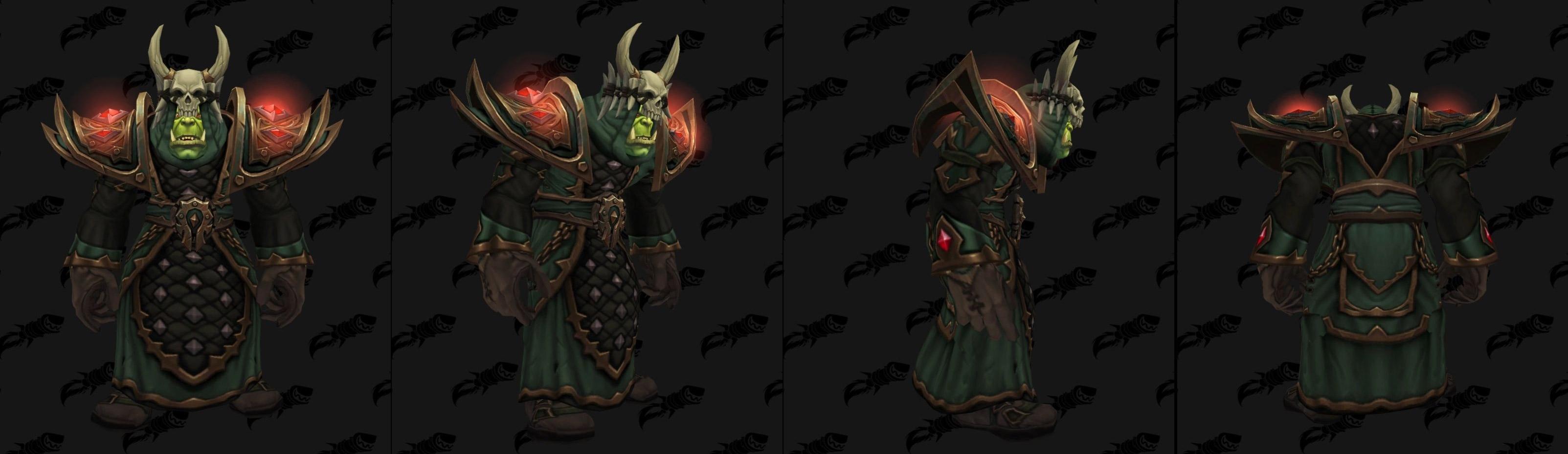 Armures tissu (Horde) - Fronts de guerre Tier 2 - Coloris 3