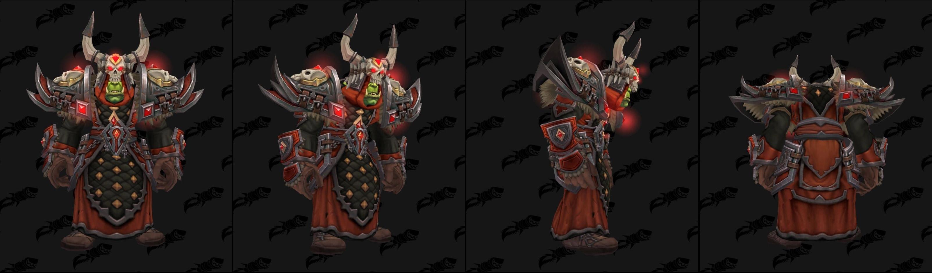 Armures tissu (Horde) - Fronts de guerre Tier 3 - Coloris 1