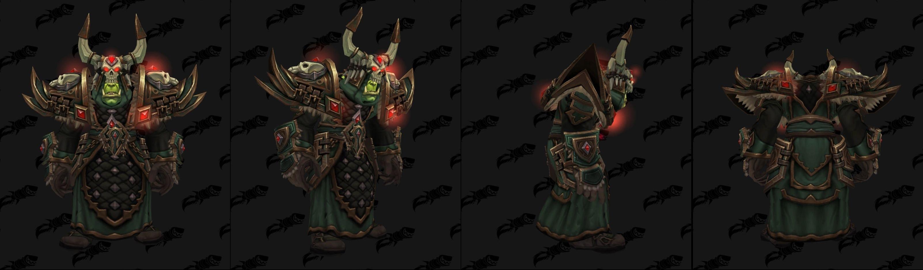 Armures tissu (Horde) - Fronts de guerre Tier 3 - Coloris 3