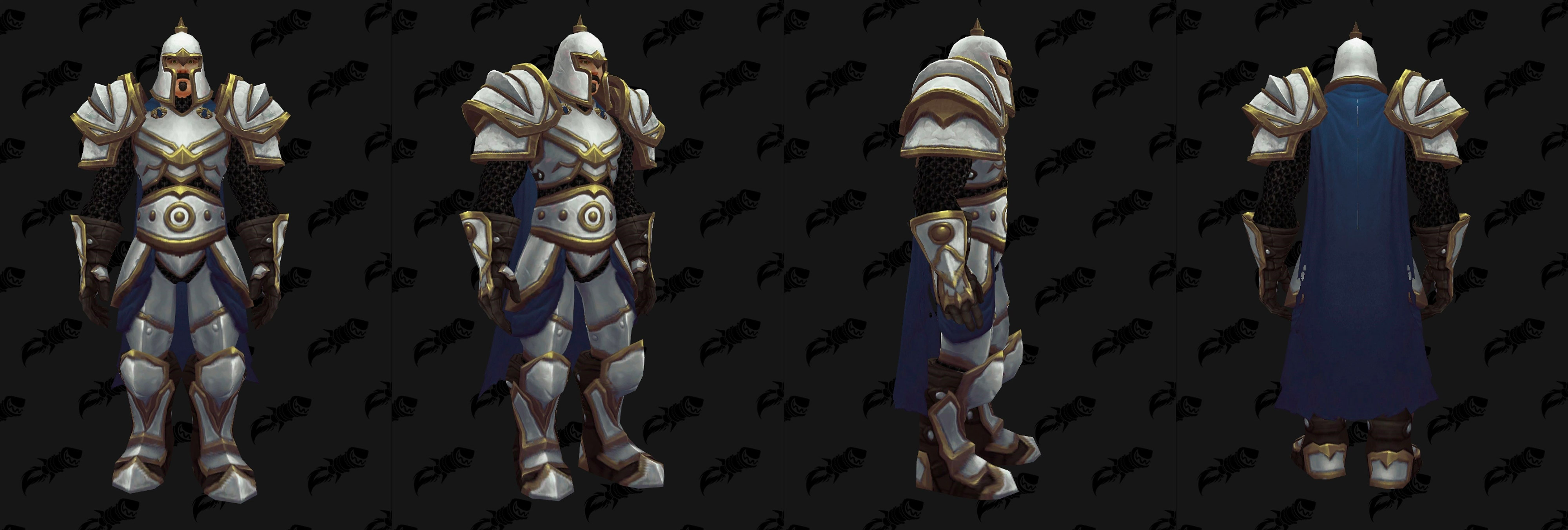 Armures plaques (Alliance) - Fronts de guerre Tier 1 - Coloris 2