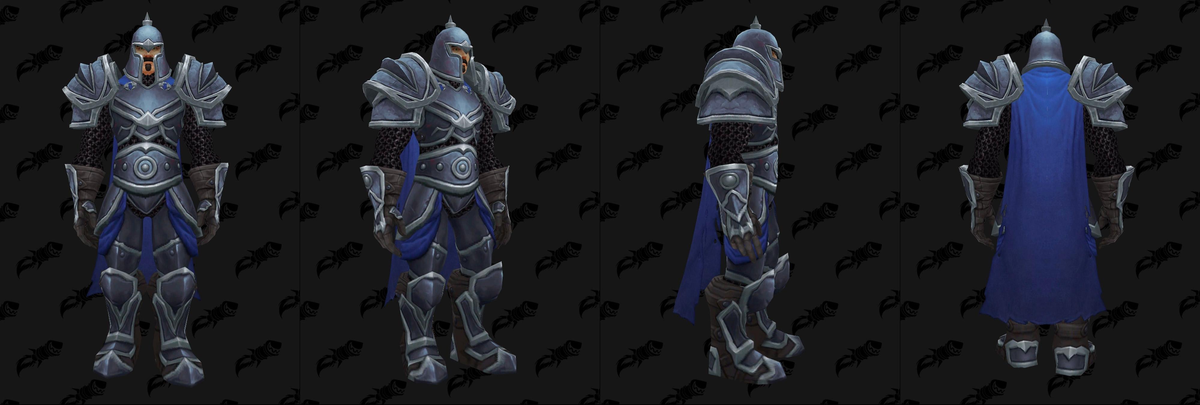 Armures plaques (Alliance) - Fronts de guerre Tier 1 - Coloris 3