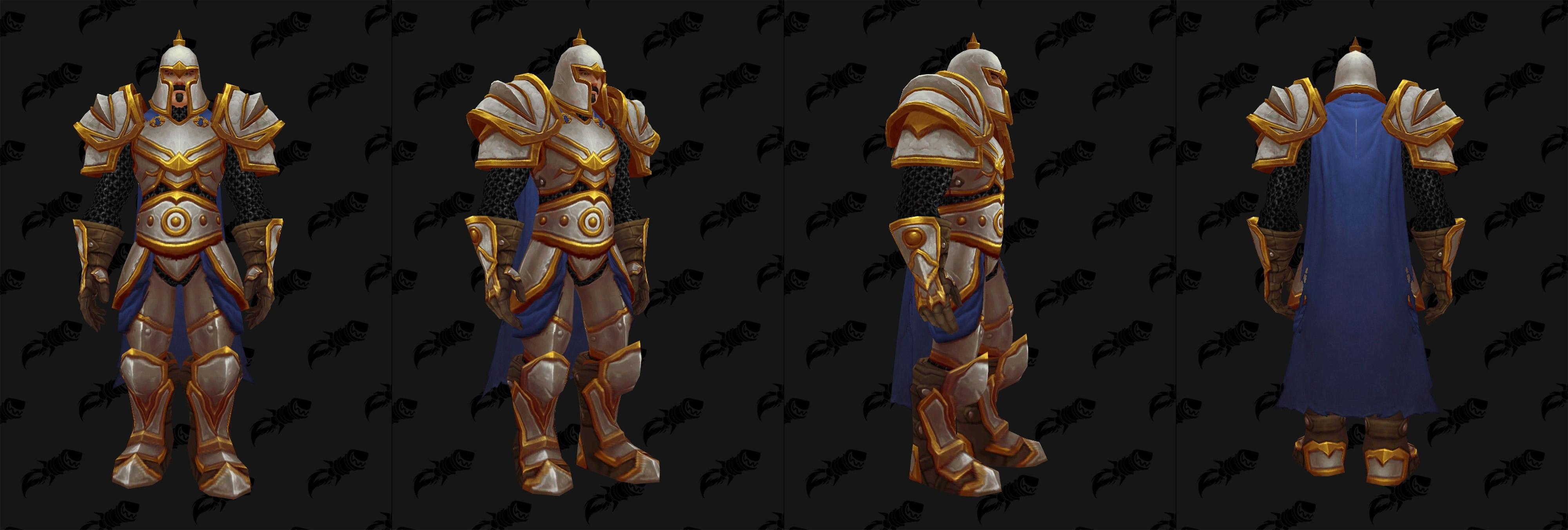 Armures plaques (Alliance) - Fronts de guerre Tier 1 - Coloris 1