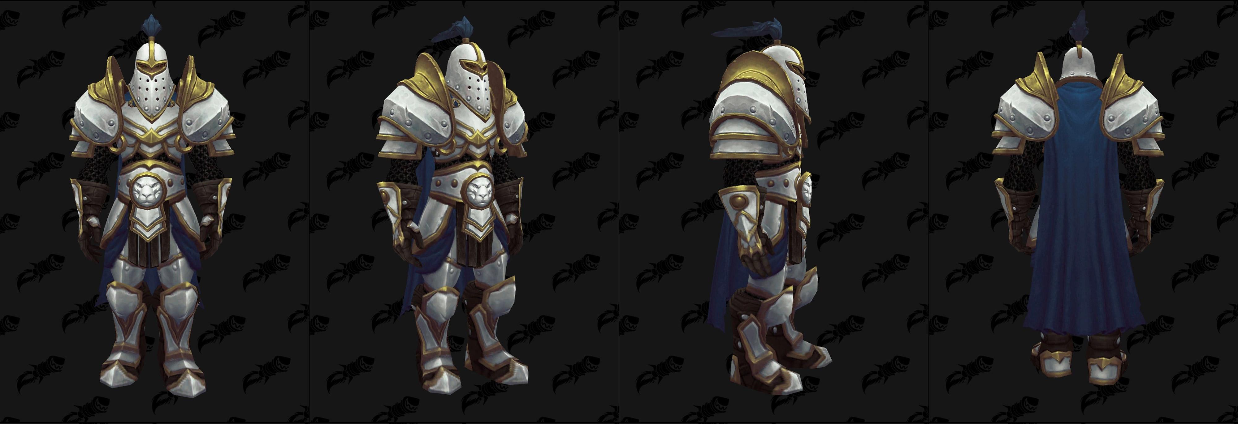 Armures plaques (Alliance) - Fronts de guerre Tier 2 - Coloris 2