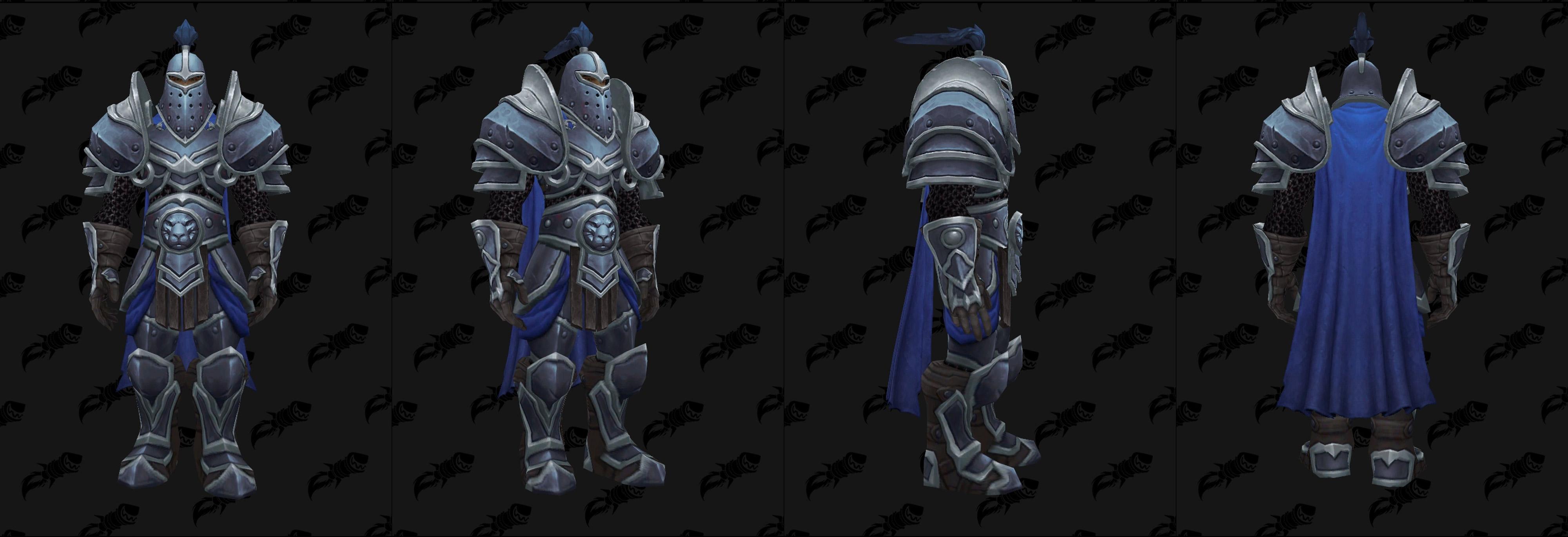 Armures plaques (Alliance) - Fronts de guerre Tier 2 - Coloris 3