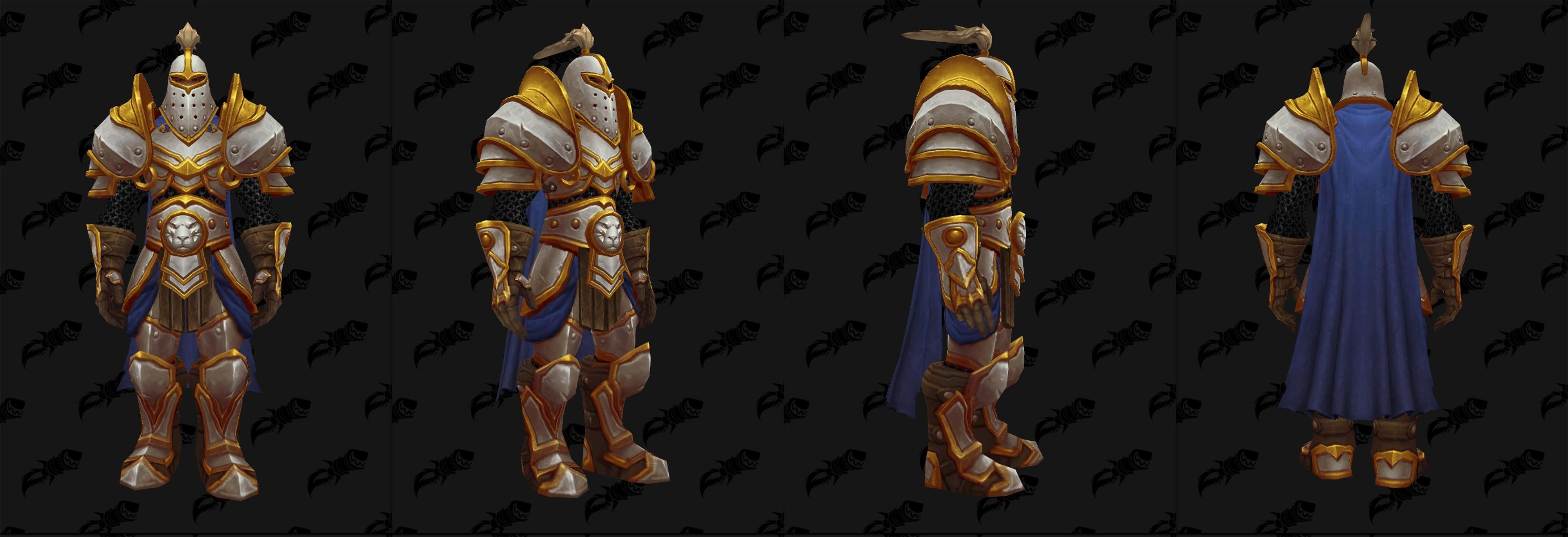 Armures plaques (Alliance) - Fronts de guerre Tier 2 - Coloris 1