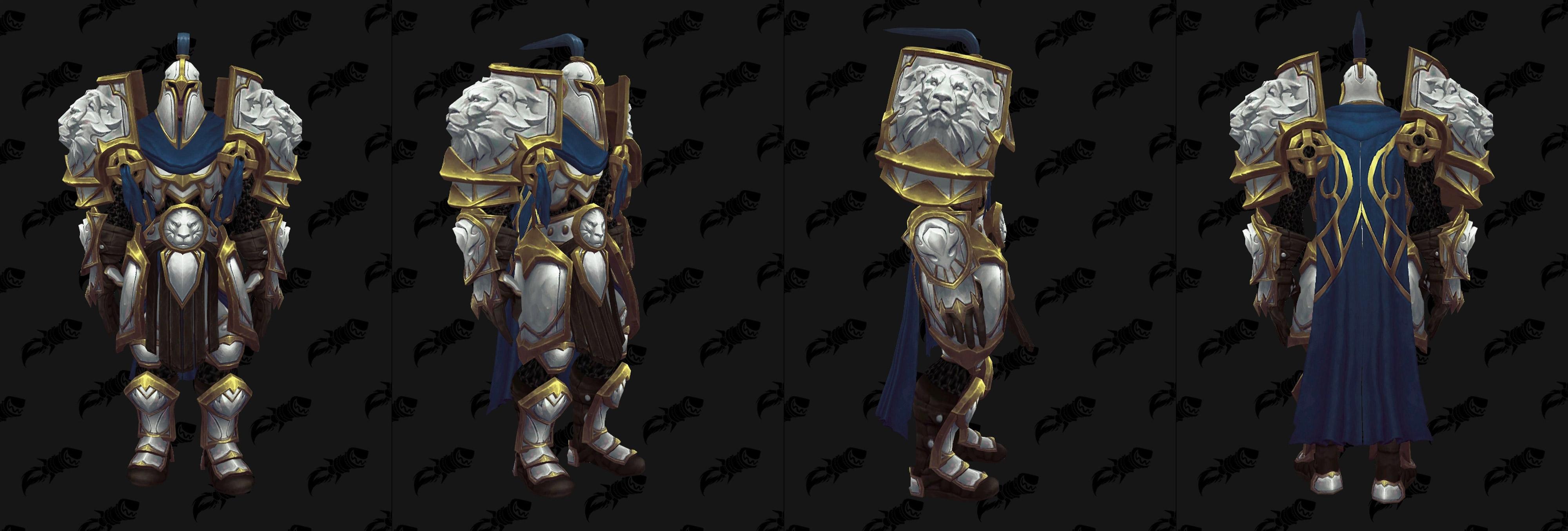 Armures plaques (Alliance) - Fronts de guerre Tier 3 - Coloris 2