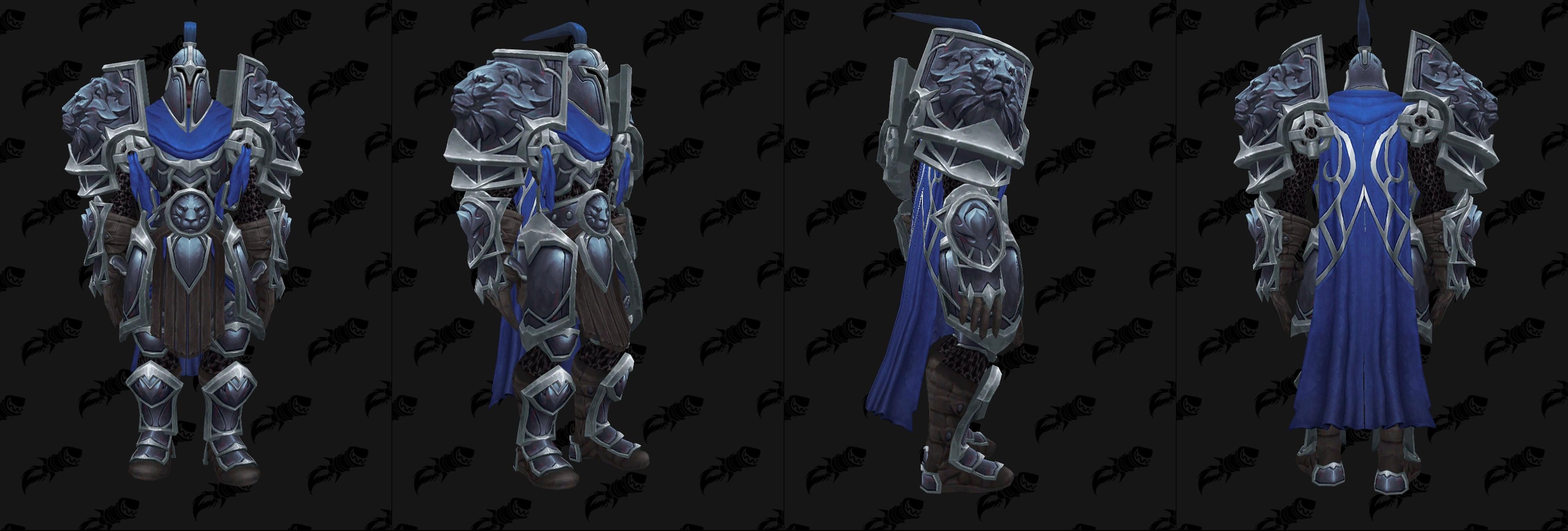 Armures plaques (Alliance) - Fronts de guerre Tier 3 - Coloris 3