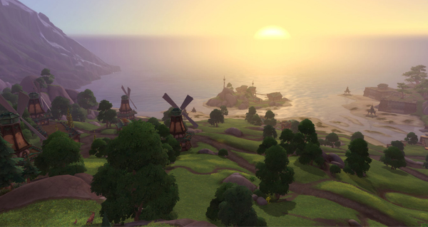 battle for azeroth : vallee chantorage, zone de kul tiras