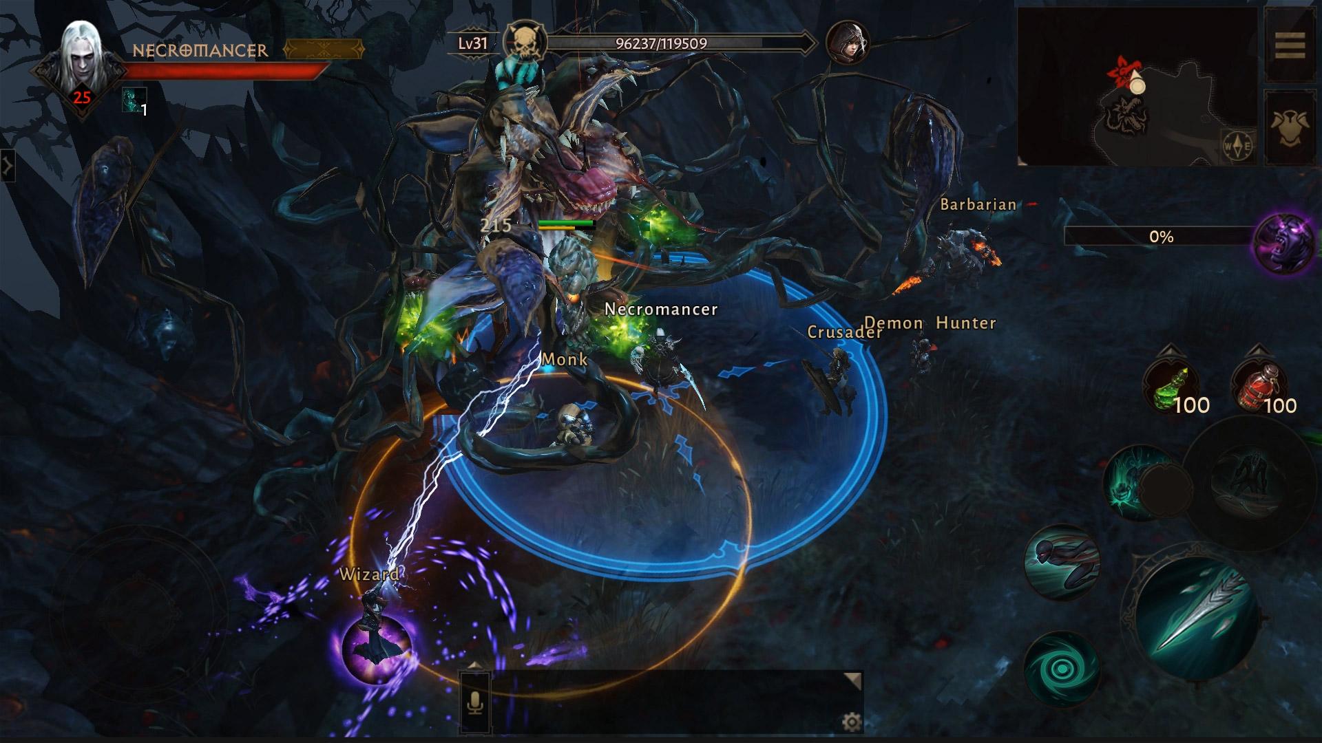 Diablo Immortal est un action RPG sur mobile