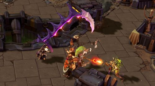 Image de Heroes of the storm : techniques de base d'Orphea