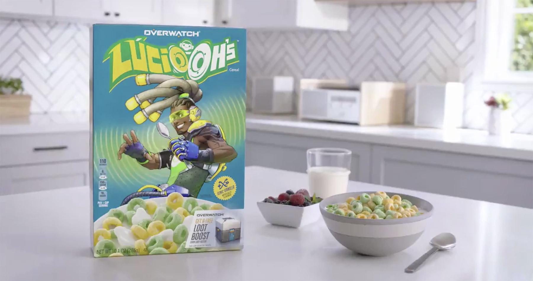 Céréales Lucio-Oh's en partenariat avec Kellogg's