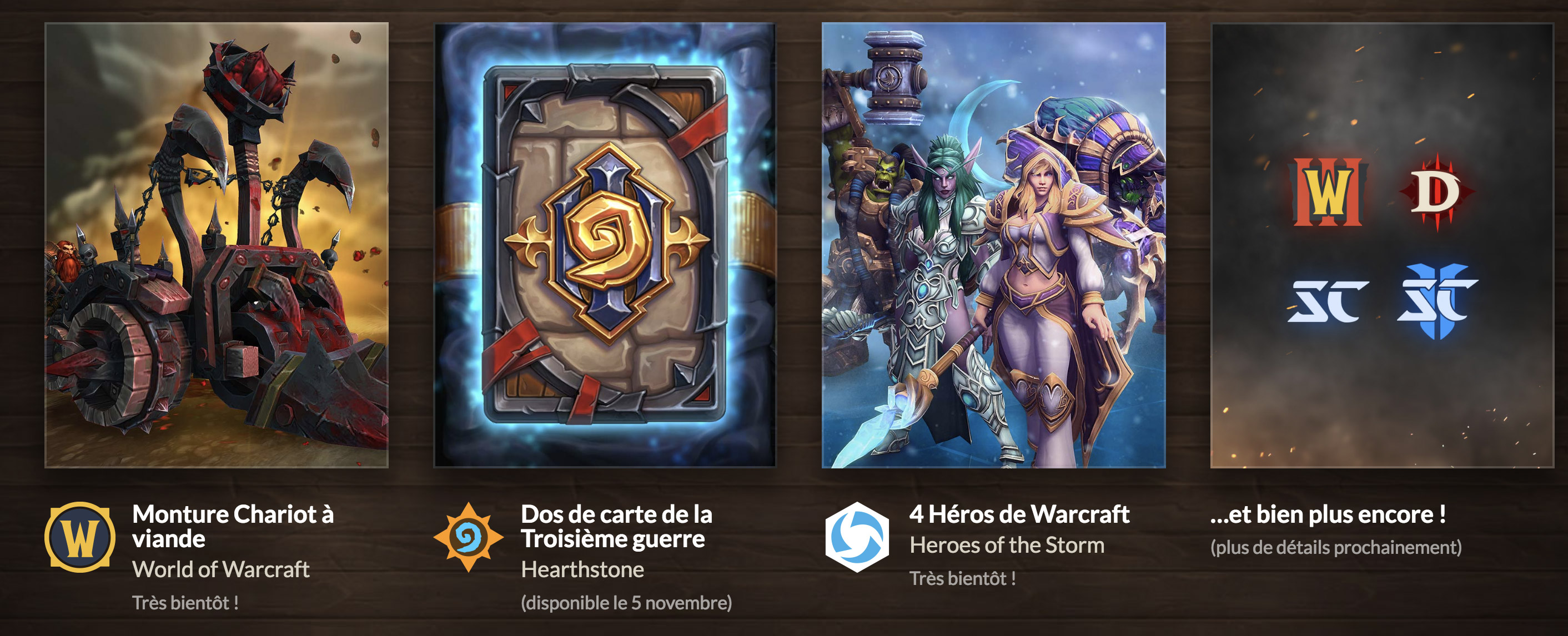 Récompenses en jeu de Warcraft 3 : Reforged