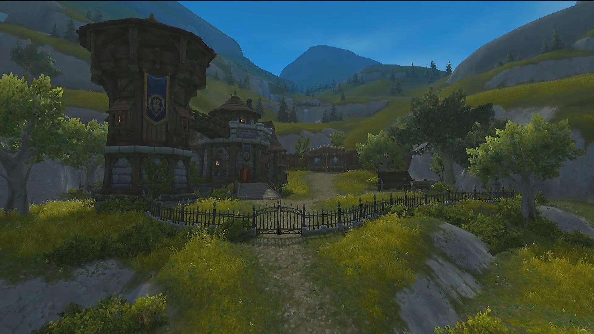 Bassin d'Arathi au patch 8.2