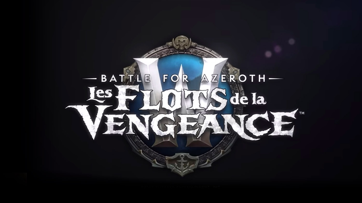 Logo du patch 8.1 : Tides of Vengeance