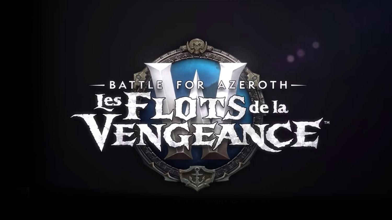 Logo du patch 8.1 : Tides of Vengeance