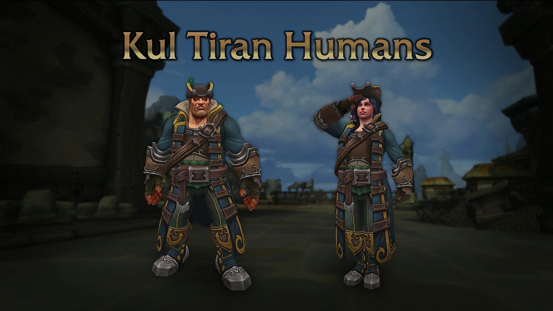 Humains de Kul Tiras au patch 8.1.5