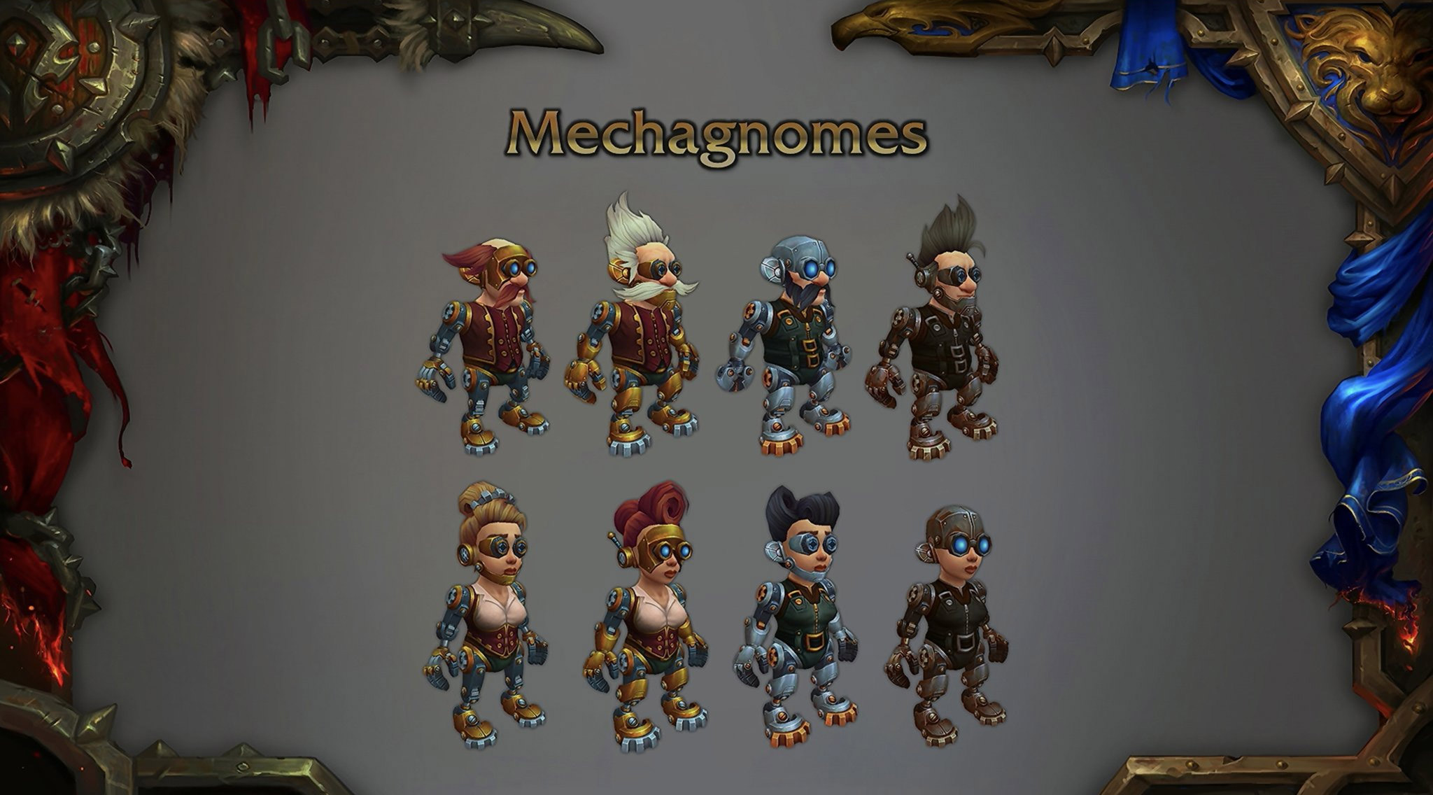 Les Mecagnomes dans World of Warcraft