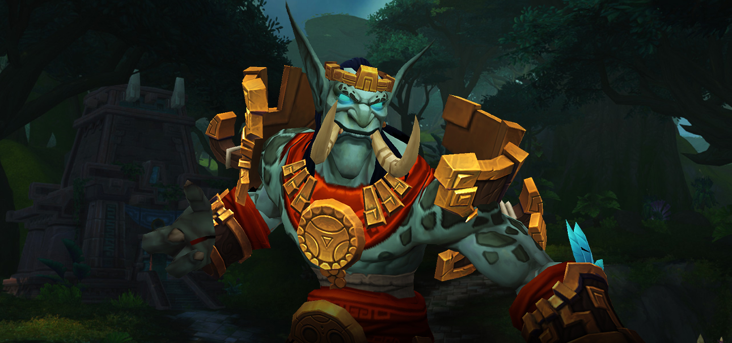La race alliée Troll zandalari sera disponible au patch 8.1.5
