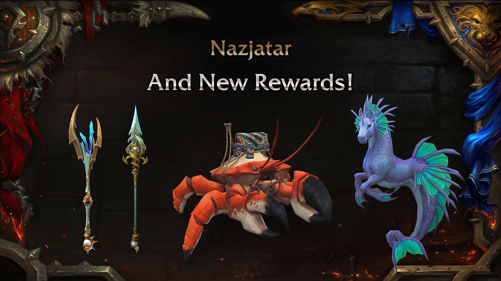 Nouvelles récompenses au patch 8.2
