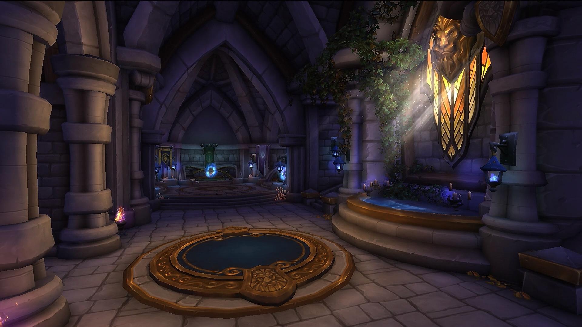 Salle des portails à Hurlevent au patch 8.1.5