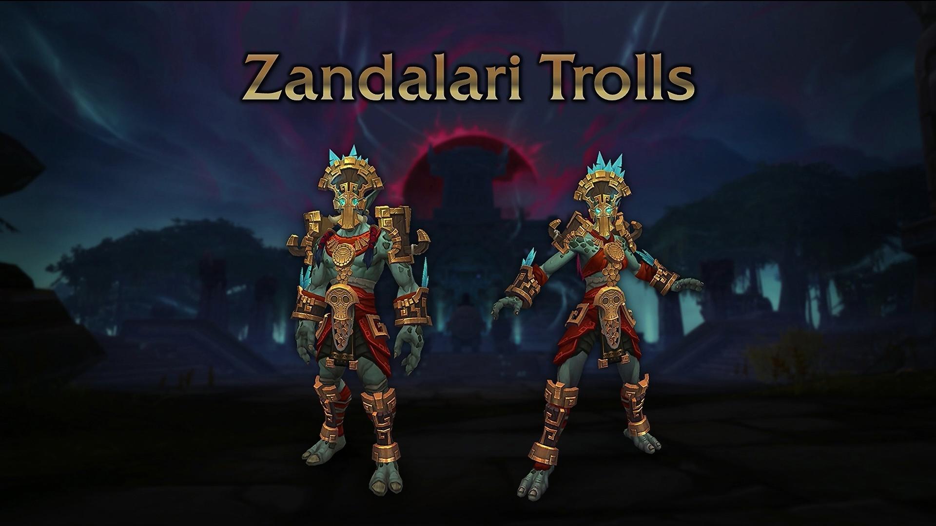 Trolls Zandalari au patch 8.1.5