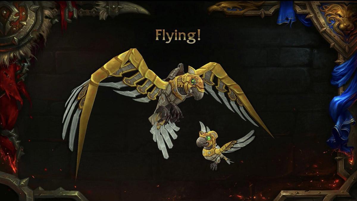 Le vol dans BFA arrive au patch 8.2