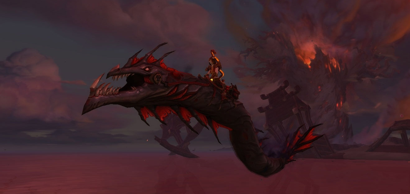 Le serpent de Nazjatar est une monture secrète de Battle for Azeroth