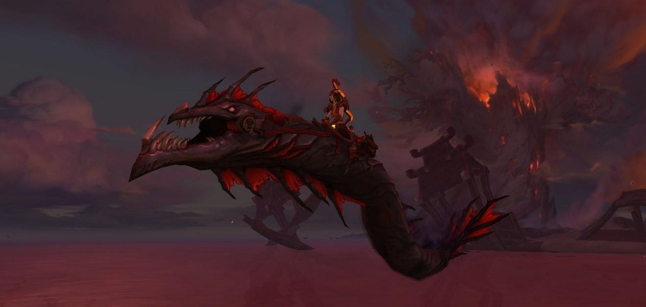 Le serpent de Nazjatar est une monture secrète de Battle for Azeroth