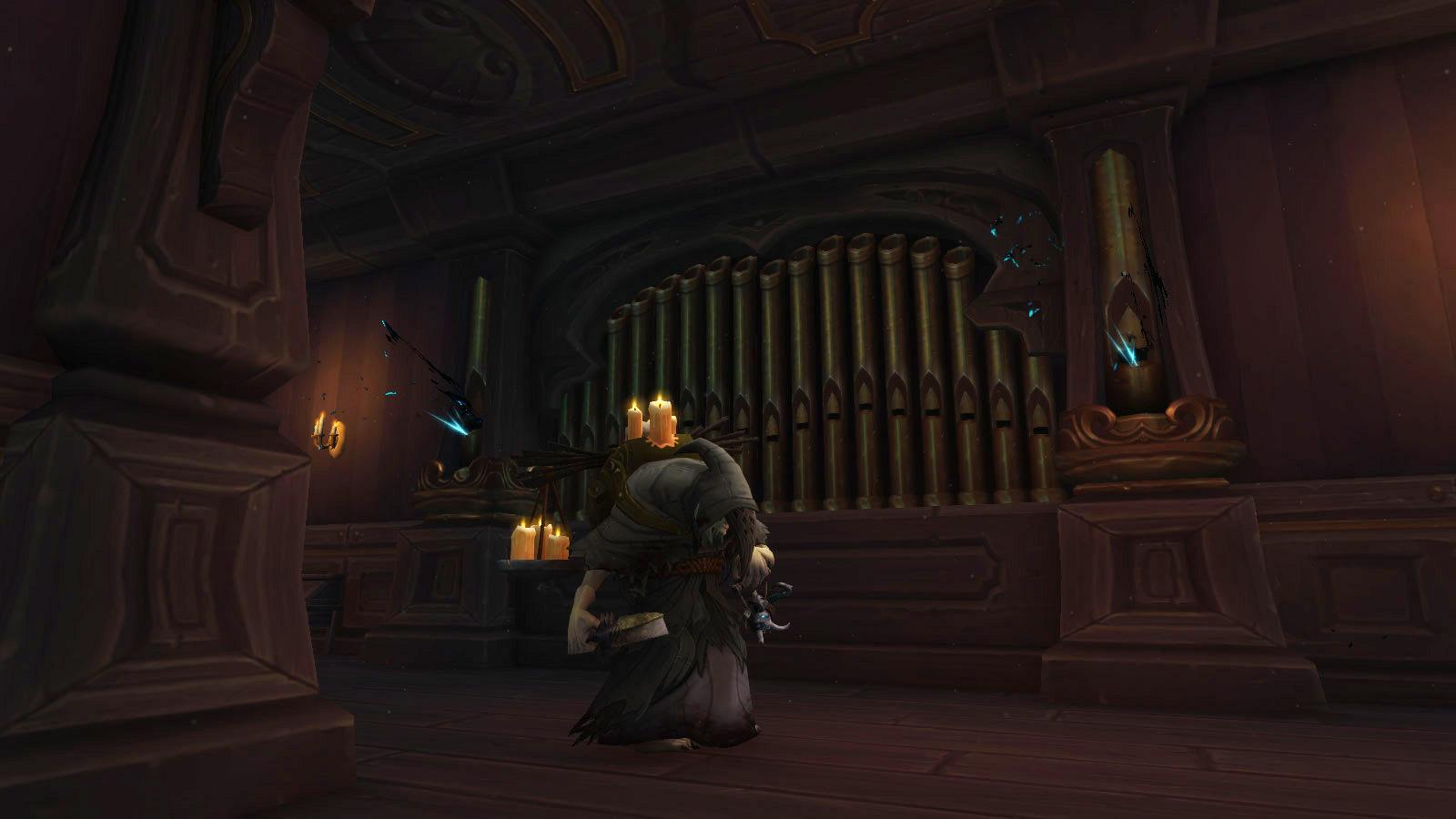 Repérez les orgues qui émettent des lumières étranges
