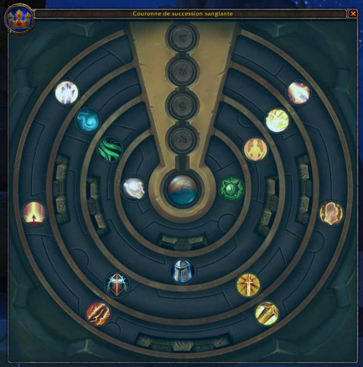 Un 5e anneau de traits d'azérite a été ajouté au patch 8.1