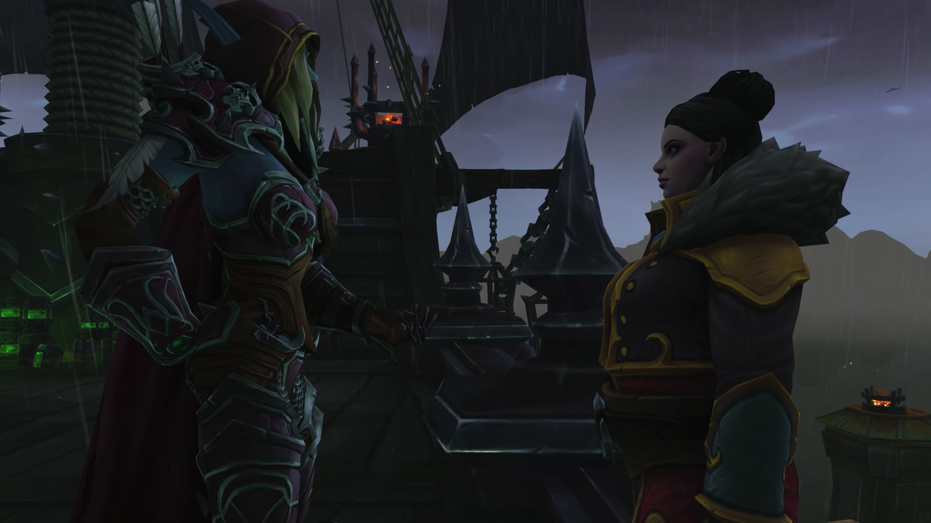 Sylvanas fait libérer Dame Corsandre de Tol Dagor