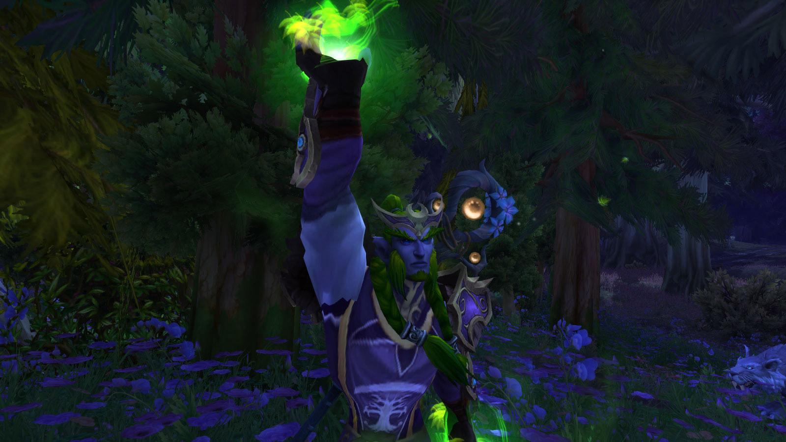 Les Elfes de la nuit à Sombrivage au patch 8.1