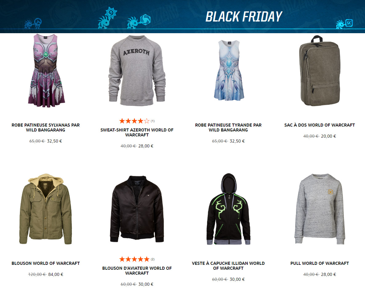 Le Black Friday sur le Blizzard Gear Europe
