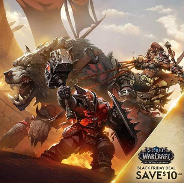 Profitez du Black Friday sur une grande partie des jeux Blizzard