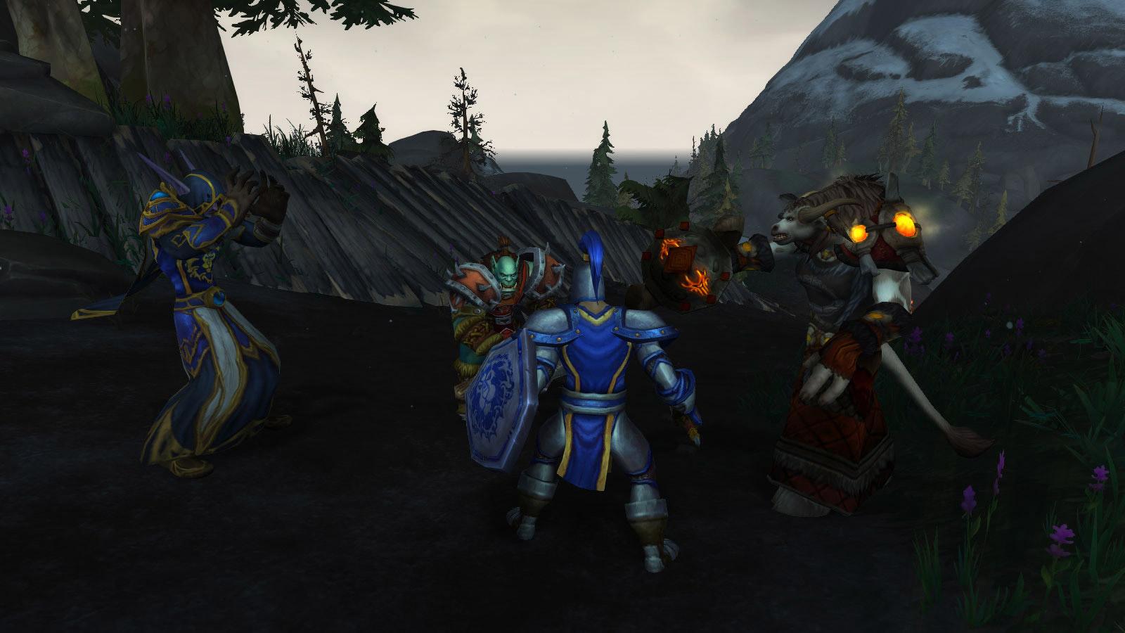 Défendez ou attaquez la zone suivant votre faction